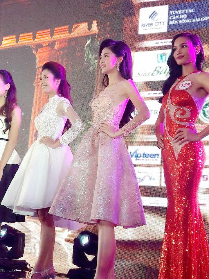 Ngắm 30 người đẹp lộng lẫy trước giờ chung kết Hoa hậu Việt Nam 2016 - ảnh 4