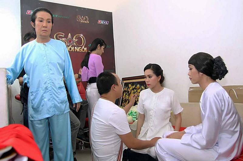 Vũ Linh bắt tay Hoài Linh hỗ trợ cháu gái tranh quán quân 'Sao nối ngôi' - ảnh 3