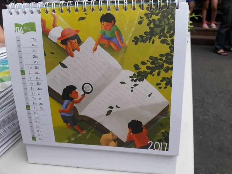 10 triệu đồng một quyển lịch… khuyến đọc - ảnh 3