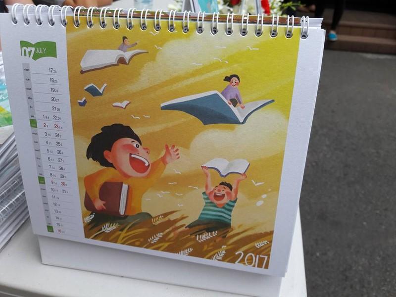 10 triệu đồng một quyển lịch… khuyến đọc - ảnh 12