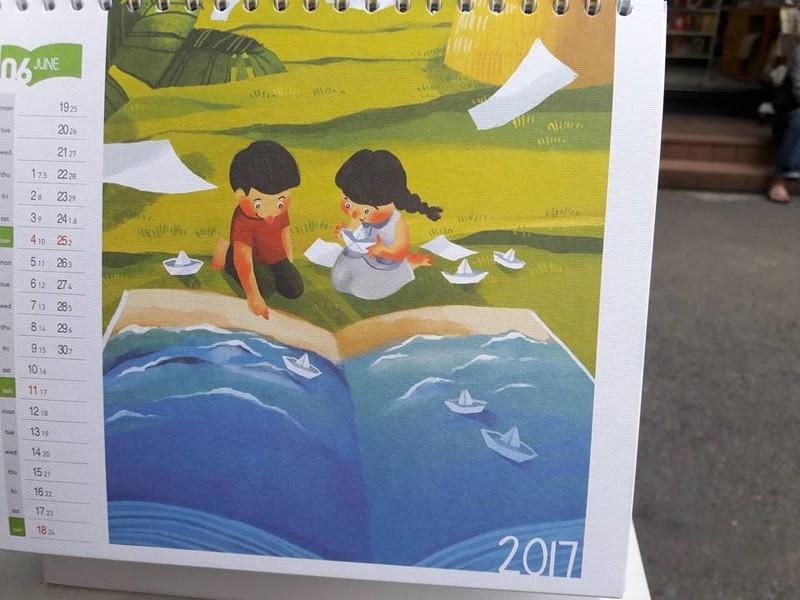 10 triệu đồng một quyển lịch… khuyến đọc - ảnh 13