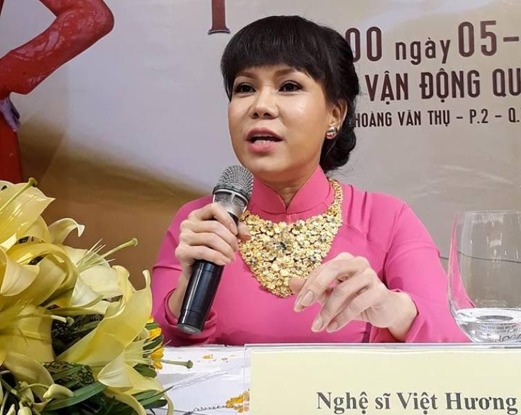 Việt Hương làm liveshow 'khủng' vì người nghèo - ảnh 1
