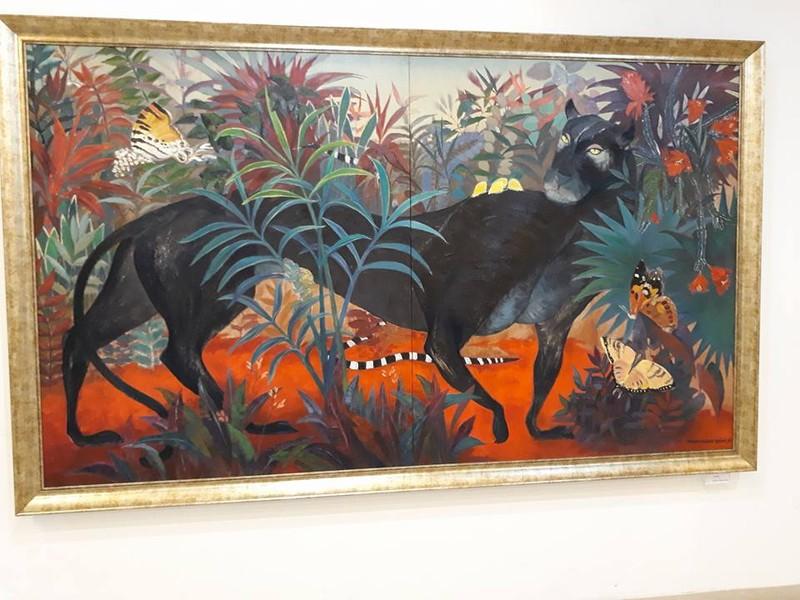 Góc nhìn trái ngược trong triển lãm tranh người và thú - ảnh 3