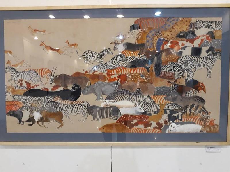 Góc nhìn trái ngược trong triển lãm tranh người và thú - ảnh 4