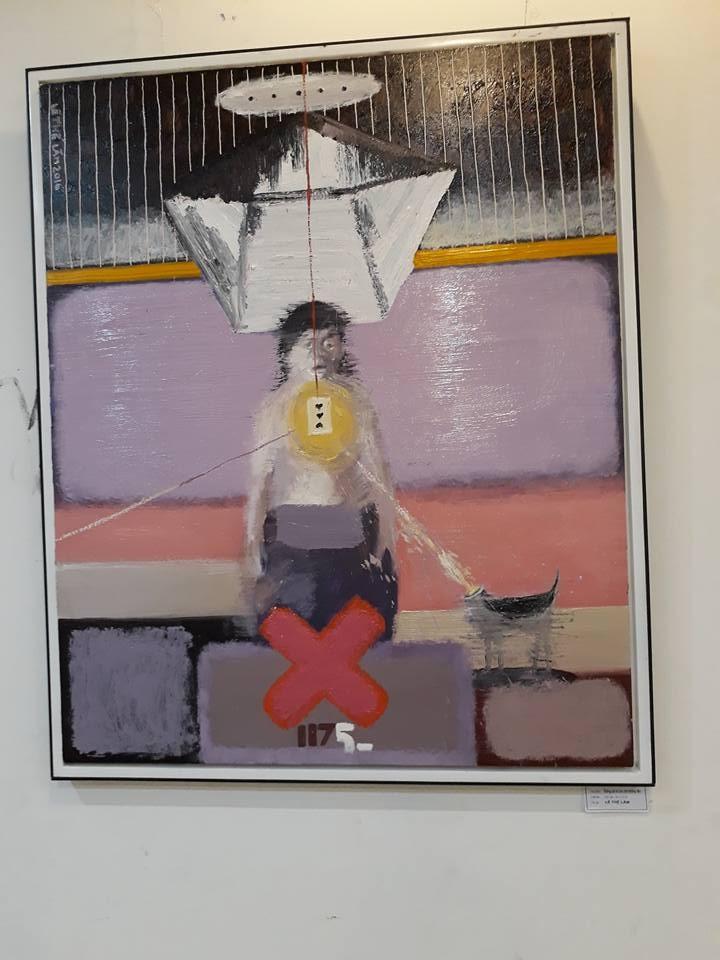 Góc nhìn trái ngược trong triển lãm tranh người và thú - ảnh 13