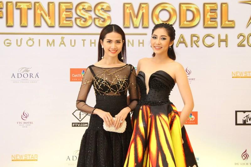 Sao tụ hội ở cuộc thi 'Người mẫu thể hình Việt Nam' - ảnh 1