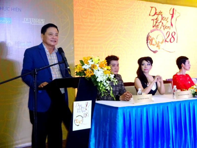 Nhà báo Nguyễn Công Khế  vẫn giữ vai trò  trưởng ban tổ chức.