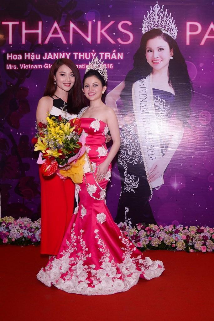 Sao chia sẻ từ thiện cùng hoa hậu Janny Thủy Trần - ảnh 1