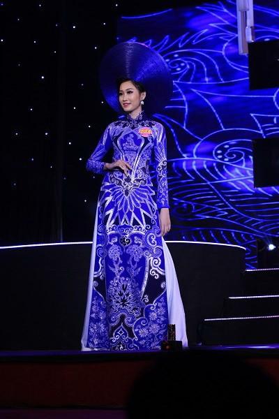 Đoàn Thị Hồng Trang đăng quang Hoa khôi miền Trung 2016 - ảnh 1