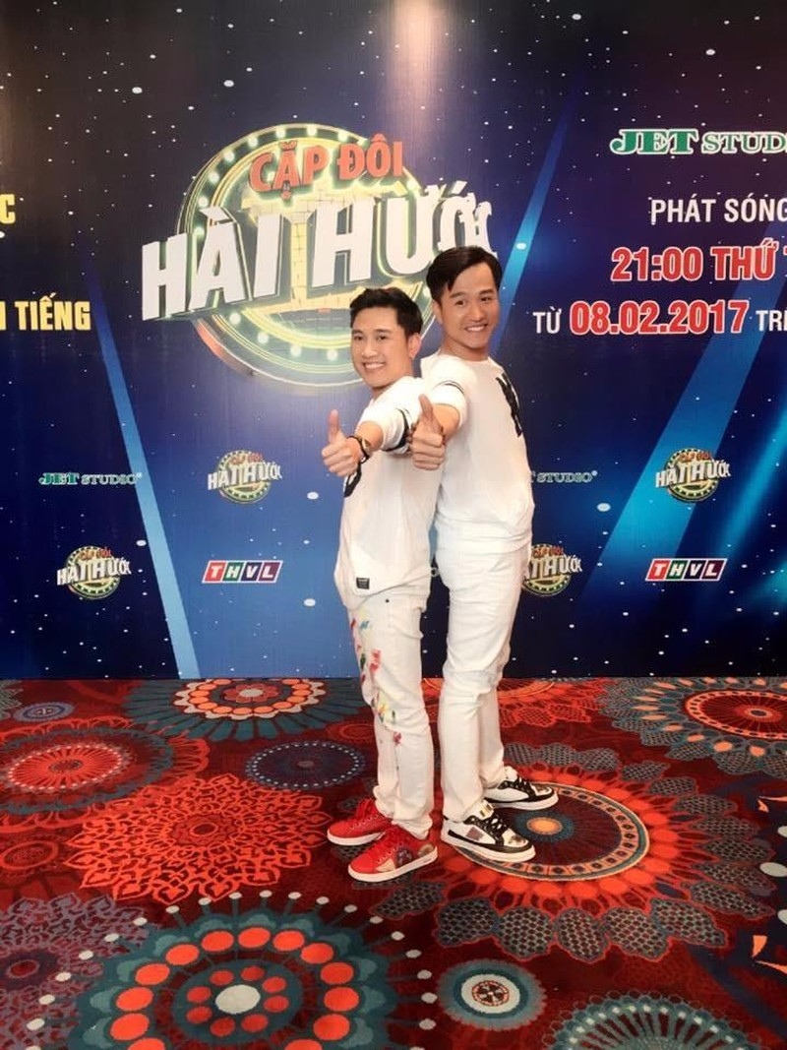Cặp đôi quán quân Huỳnh Tiến Khoa và Don Nguyễn.