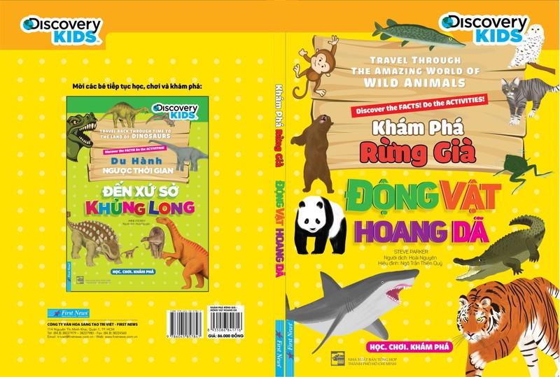 Ra mắt bộ sách giúp trẻ khám phá thiên nhiên hoang dã - ảnh 1
