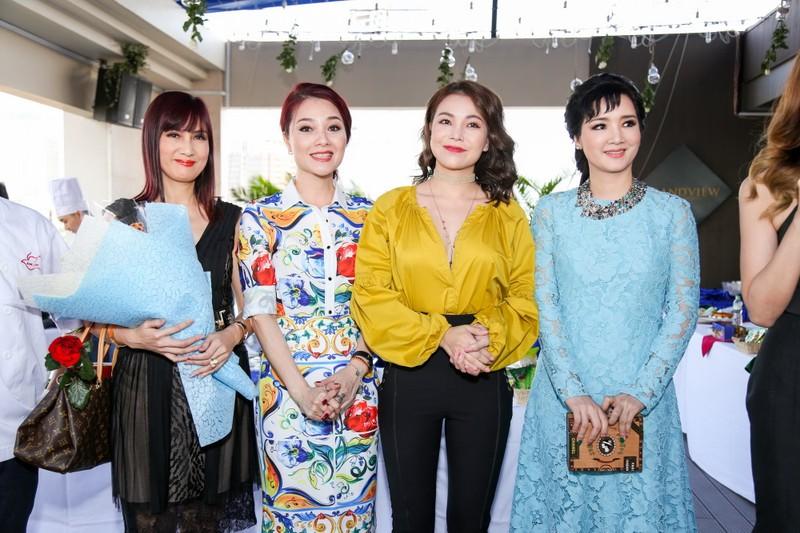 """Hoa hậu, người đẹp nhiều thế hệ tụ về """"Đẹp và tài năng"""" - ảnh 12"""