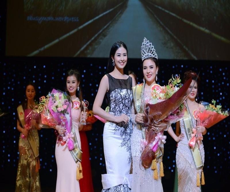 Hoa hậu Doanh nhân người Việt châu á 2016