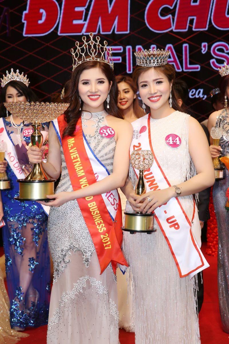 Á quân Sao Mai Hoàng Thủy đăng quang Hoa hậu Doanh nhân - ảnh 2