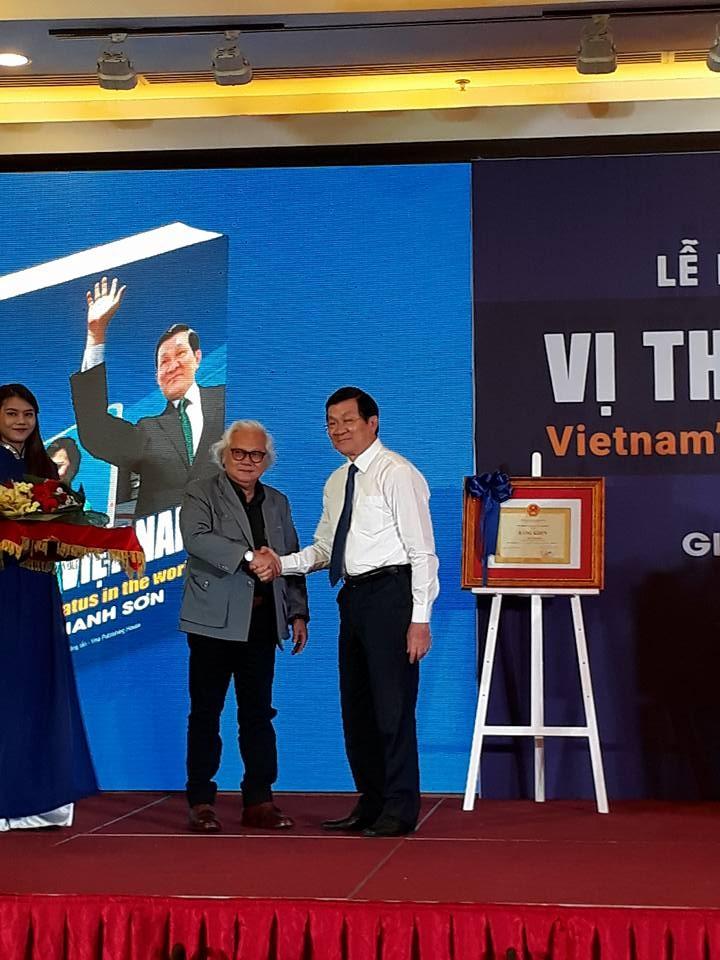 Ấn tượng lễ ra mắt sách ảnh ông Trương Tấn Sang công du - ảnh 1