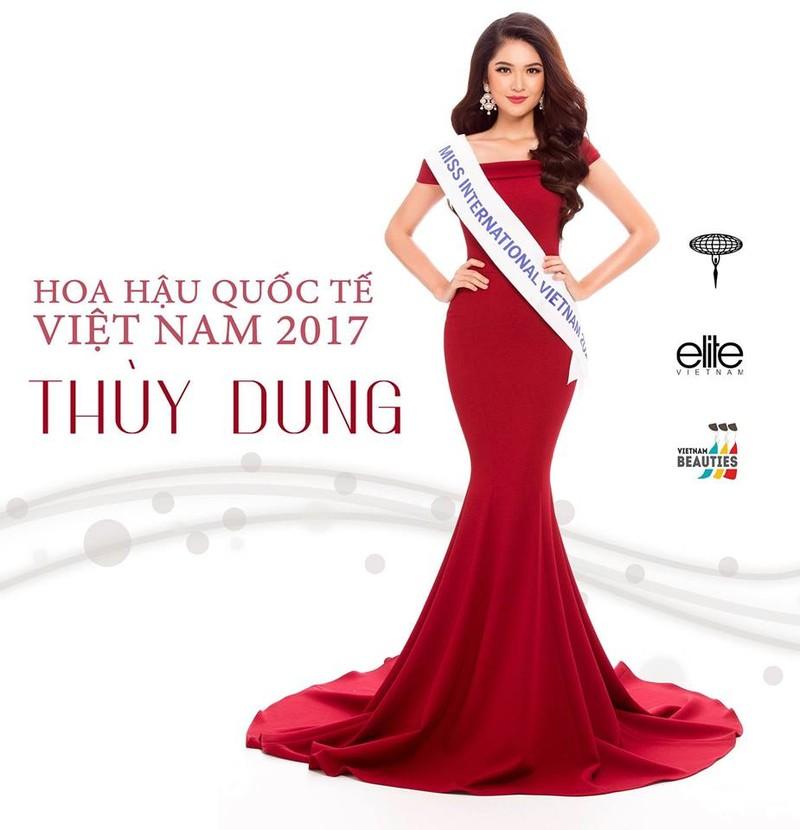 """Á hậu Thùy Dung tham gia cuộc thi """"Hoa hậu Quốc tế"""" - ảnh 1"""