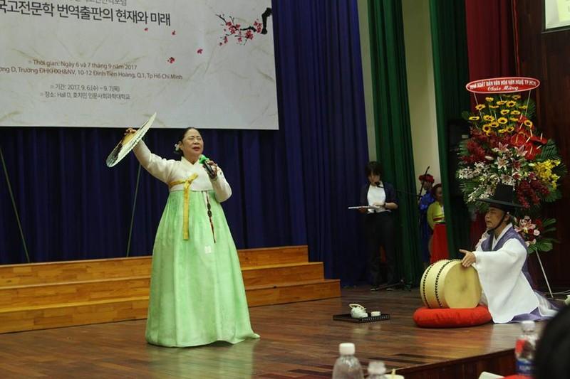 'Báu vật sống' của Hàn Quốc biểu diễn tại Việt Nam - ảnh 1