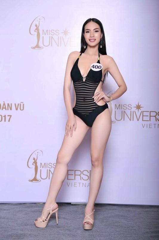 Thí sinh Hoa hậu Hoàn vũ VN khoe hình thể quyến rũ   - ảnh 6