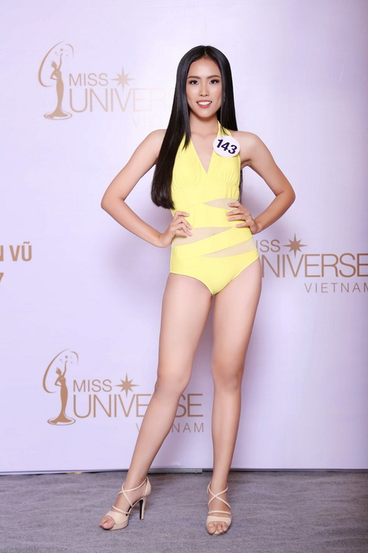Thí sinh Hoa hậu Hoàn vũ VN khoe hình thể quyến rũ   - ảnh 16