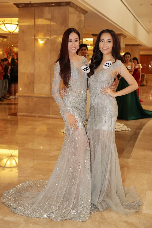Mai Ngô trượt Hoa hậu Hoàn vũ VN, cận cảnh top 70 - ảnh 2