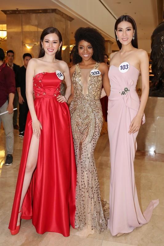 Mai Ngô trượt Hoa hậu Hoàn vũ VN, cận cảnh top 70 - ảnh 6