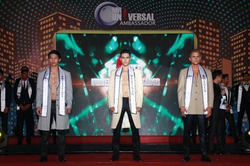 Lương Gia Huy đăng quang Mister Universal Ambassador - ảnh 3