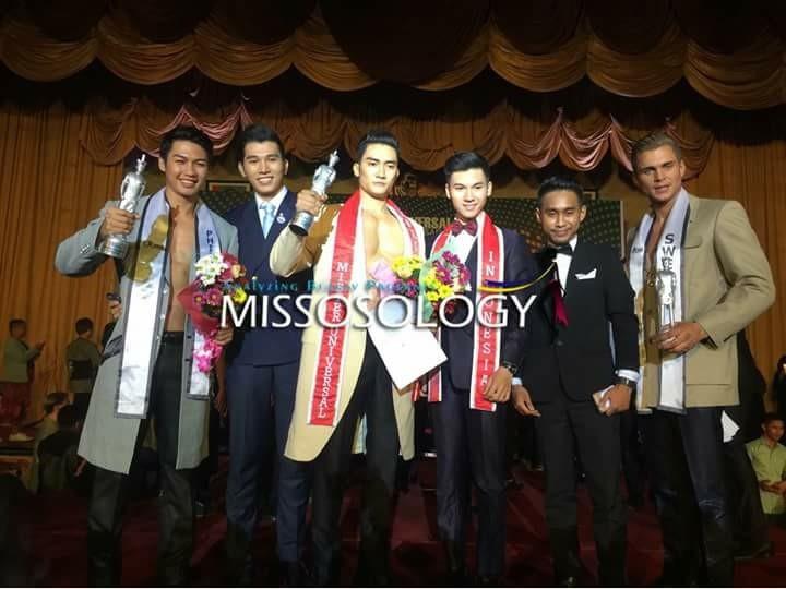 Lương Gia Huy đăng quang Mister Universal Ambassador