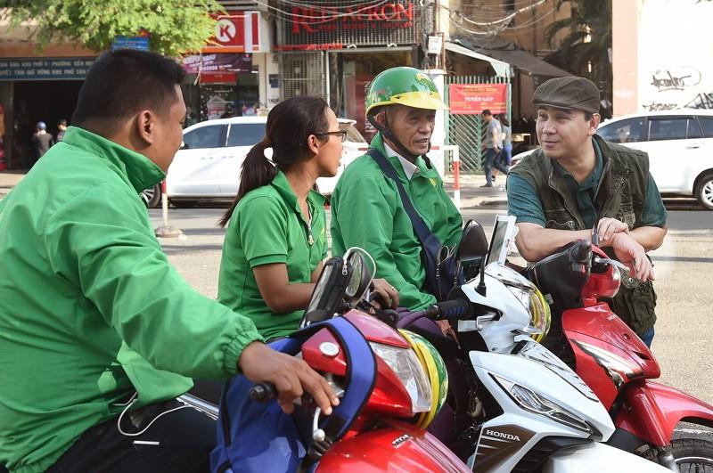 Quyền Linh giúp 'hóa giải' xe ôm truyền thống và Grab - ảnh 3