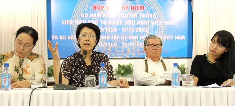 Bà Tôn Nữ Thị Ninh: Hòa bình không tự nhiên mà có - ảnh 1