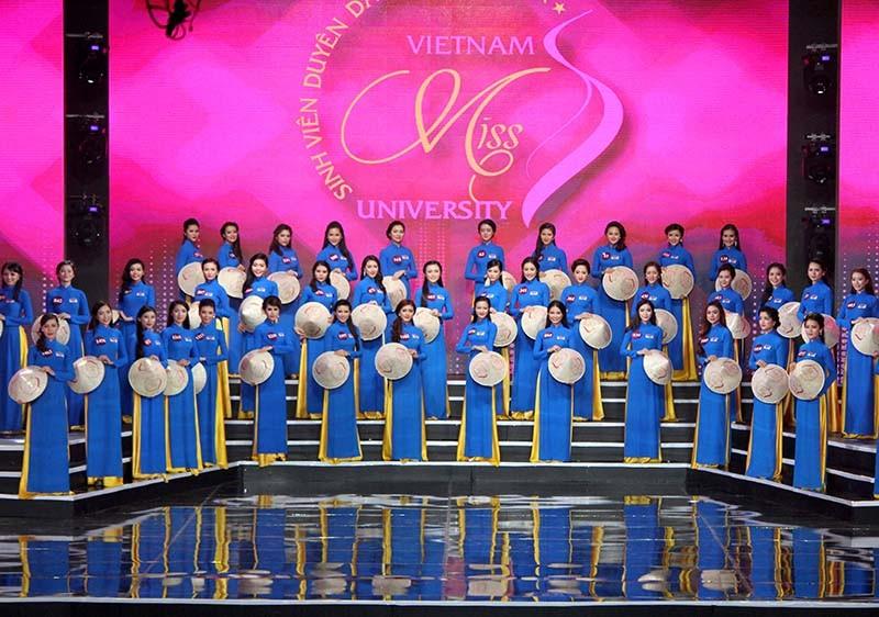 Đặng Mỹ Huyền đăng quang Hoa khôi Nữ sinh viên Việt Nam  - ảnh 2