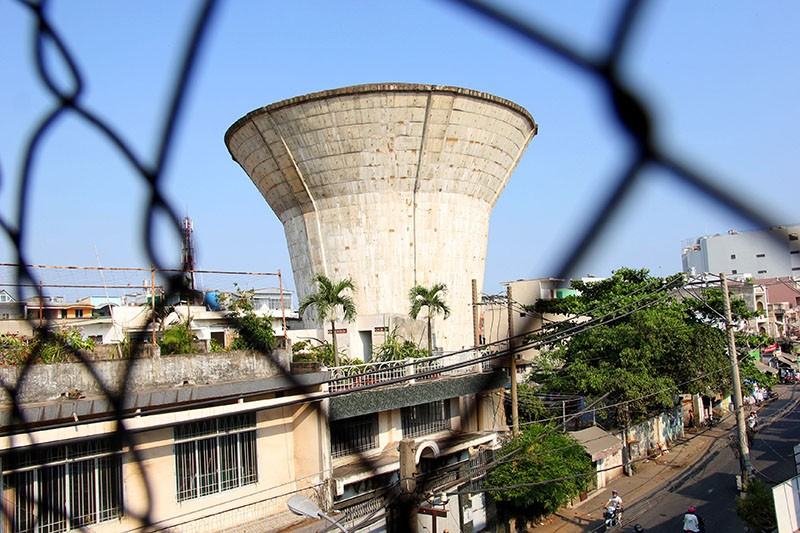 Cận cảnh Bảy thủy đài bỏ hoang sắp bị 'khai tử' tại TP.HCM - ảnh 7