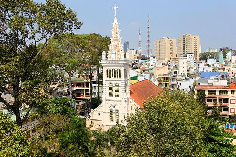Cận cảnh nhà thờ Chợ Quán cổ nhất Sài Gòn - ảnh 1