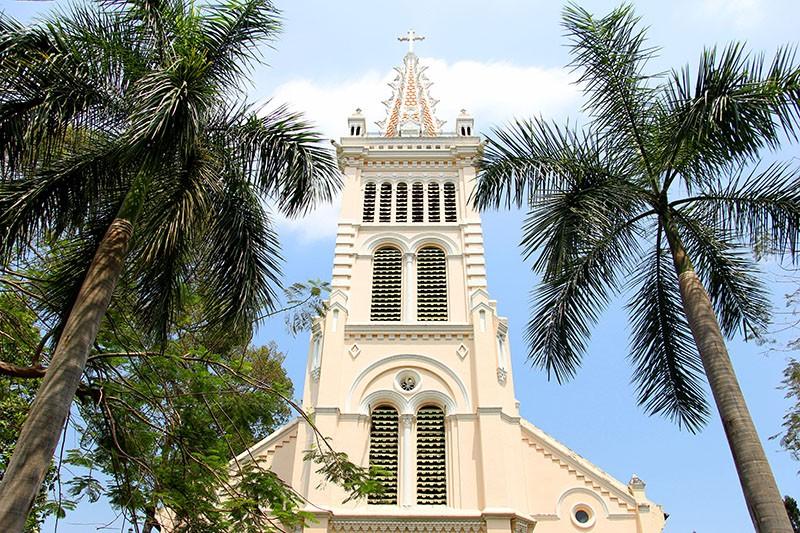 Cận cảnh nhà thờ Chợ Quán cổ nhất Sài Gòn - ảnh 2