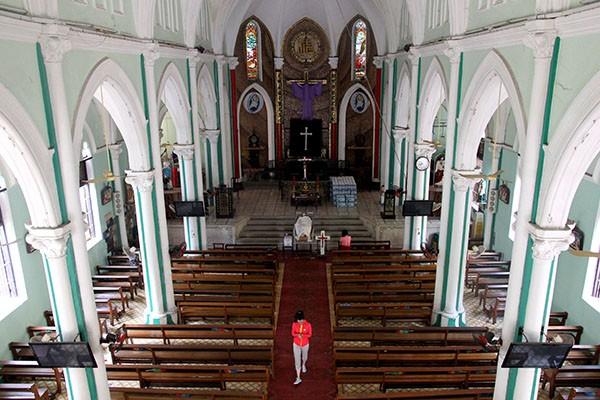 Khám phá nhà thờ trên 100 tuổi của người Hoa ở Sài Gòn - ảnh 8