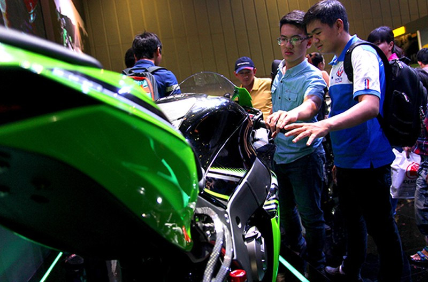 Siêu mô tô chào bán tại Việt Nam với giá 549 triệu đồng - ảnh 10