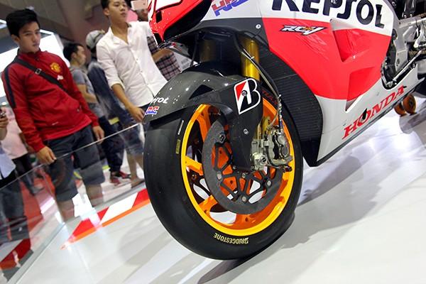 Siêu phẩm Honda RC213V của nhà vô địch MotoGP  - ảnh 4