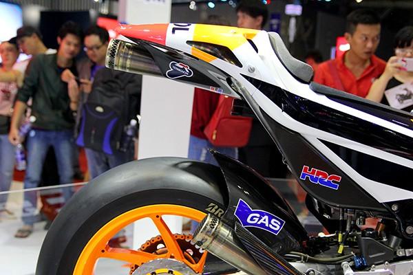 Siêu phẩm Honda RC213V của nhà vô địch MotoGP  - ảnh 8