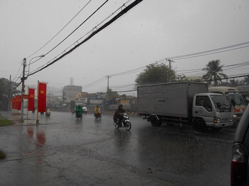Cơn mưa 'vàng' thứ hai giải nhiệt cho Sài Gòn - ảnh 6