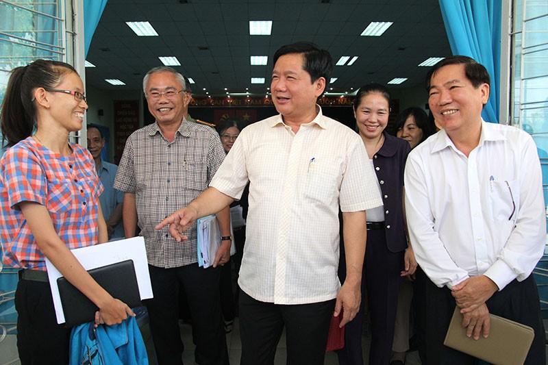 Toàn cảnh cuộc vận động bầu cử của ứng cử viên Đinh La Thăng - ảnh 6