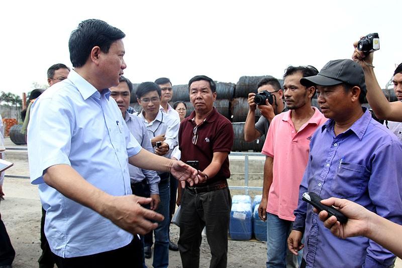 Toàn cảnh cuộc vận động bầu cử của ứng cử viên Đinh La Thăng - ảnh 7