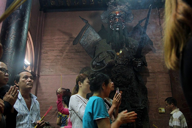 Cận cảnh ngôi chùa 100 tuổi sắp được Tổng thống Obama viếng thăm - ảnh 8