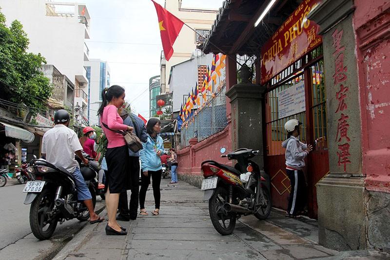 Thắt chặt an ninh chùa Ngọc Hoàng trước giờ Tổng thống Obama đến thăm  - ảnh 5