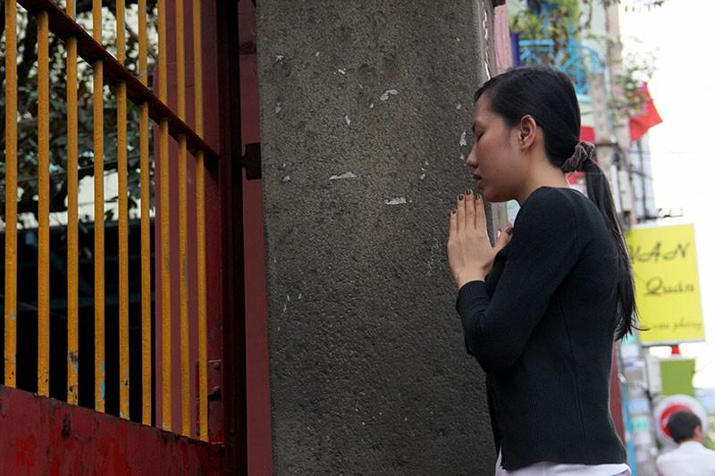 Thắt chặt an ninh chùa Ngọc Hoàng trước giờ Tổng thống Obama đến thăm  - ảnh 6