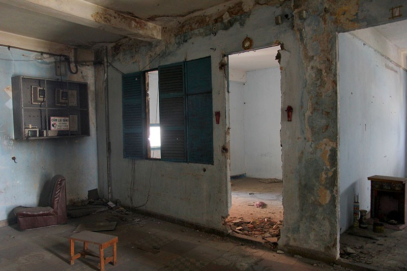 Bên trong chung cư 'ma' sắp được tháo dỡ giữa trung tâm thành phố - ảnh 18