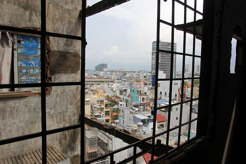 Bên trong chung cư 'ma' sắp được tháo dỡ giữa trung tâm thành phố - ảnh 21
