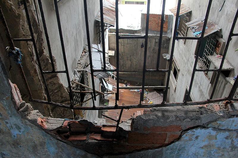Bên trong chung cư 'ma' sắp được tháo dỡ giữa trung tâm thành phố - ảnh 7