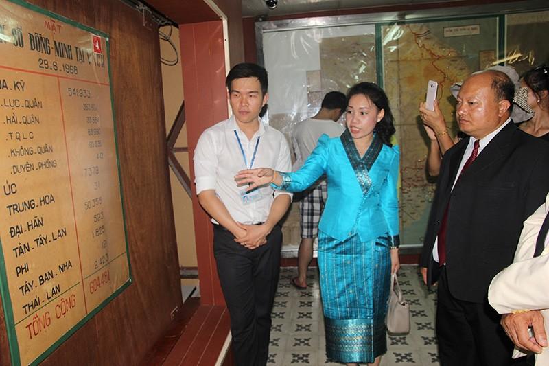 Đoàn tư pháp tỉnh Luang prabang thăm Sở tư pháp TP.HCM - ảnh 15