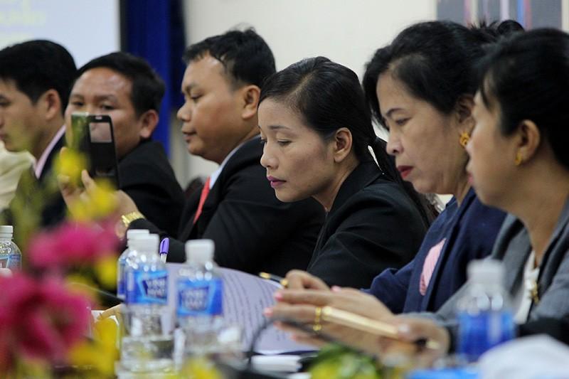 Đoàn tư pháp tỉnh Luang prabang thăm Sở tư pháp TP.HCM - ảnh 4