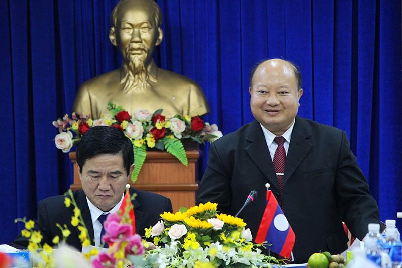 Đoàn tư pháp tỉnh Luang prabang thăm Sở tư pháp TP.HCM - ảnh 3