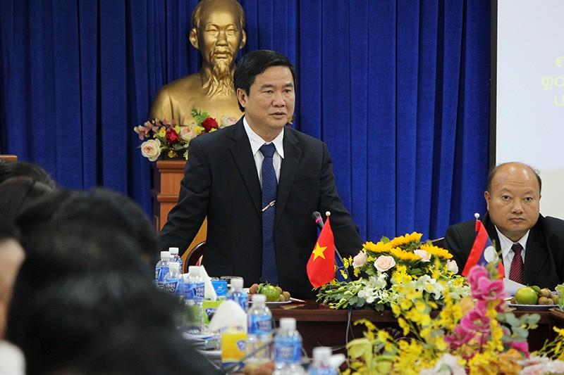Đoàn tư pháp tỉnh Luang prabang thăm Sở tư pháp TP.HCM - ảnh 2